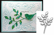 Leaves Stem Die LORELAI LEAF Poppy Stamps Dies 839 Branch Stem All Occasion