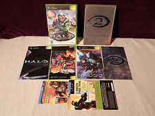 Tested Lot Xbox Halo 1 2 Collectors Edition Metal Tin Case Halo Combat Evolution