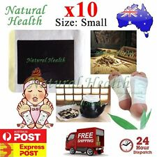 10 x Foot Pad Patch Traditional Chinese Herbal Herbs Natural Plant Extract Small