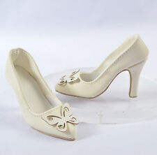 60CM 1/3 BJD SD Iplehouse  EID SID YID Dollfie Doll Female Shoes/Pumps Ivory