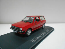 VOLKSWAGEN POLO  MKII TYP 86C RED  1981-1994   RBA IXO 1/43