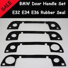 BMW E32 E34 E36 - 4 Door Handle set outer rubber seal