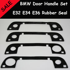 BMW E32 E34 E36 - 4 Door Handle set outer rubber seal