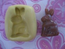 Bunny easter rabbit 23mm Silicone flexible mold for chocolate fondant clay etc