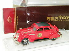 REXTOYS - CHRYSLER AIRFLOW 1935 POMPIER I.M.F.D