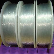 1 Bobina Filo Elastico da Silicone 0,8mm x 100 Metri Bigiotteria Rubber elastico