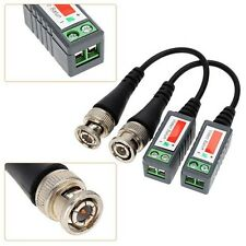 100pairs Video Balun Twisted Video Balun passive Transceivers CCTV UTP BNC Cat5