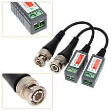100pairs Video Balun Twisted Passive Transceivers CCTV UTP BNC DVR Camera Cat5