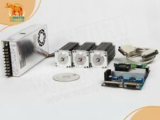 【German Ship & EU Free】Nema 23 Stepper Motor 270oz-in,3A +3 Axis 3D CNC Mill Kit