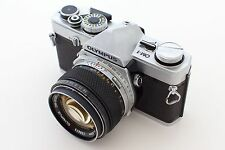 Olympus OM-1 35mm SLR Camera with 50mm f/1.4 Zuiko Lens