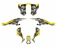 CAN AM DS 450 graphics ds450 sticker kit 2500 Yellow Free Custom Service