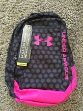 BRAND NEW WITH TAGS, Under Armour Backpack Pink and Black