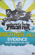 BROTHER ALI, FRESH AIR TOUR POSTER (A25)