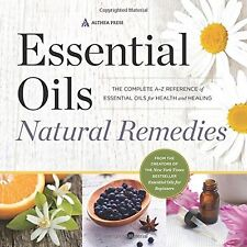 Essential Oils Natural Remedies: The Complete A-Z by Althea Press (Paperback)
