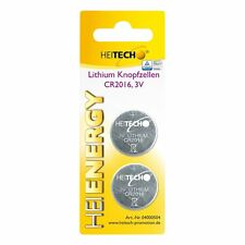 Heitech Lithium Knopfzellen, 2-er Pack, CR2032, 210 mAh, 3 V - Set Batterien