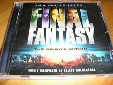 Elliot Goldenthal - Final Fantasy The Spirits Within Soundtrack Score CD + bonus