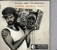 Michgael Franti&Spearhead-Everyone Deserves Music cd single