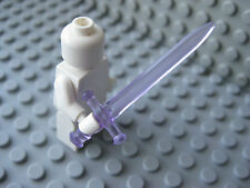 Custom Sovereign SWORD -Trans Purple- for LEGO Minifigures- Castle LOTR