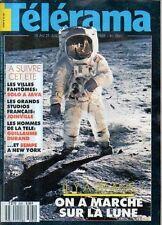 telerama  n°2061 la lune claudette colbert joris ivens robert le vignan 1989