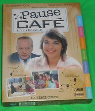 COFFRET TRIPLE DVD PAUSE CAFE VERONIQUE JANNOT JACQUES FRANCOIS