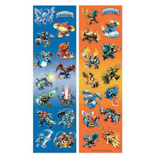8 Skylanders Video Game Birthday Party Loot Favor Treat Sticker Sheets