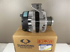 GENUINE SSANGYONG KORANDO SUV 2.9L TURBO DIESEL ALL MODEL ALTERNATOR ASSY