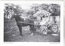 "*Postcard-""Two Women in Decorated Buggy"" -Late 1800's-- *College Park GA (#153)"
