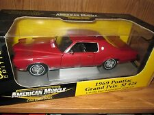 1969 Pontiac Grand Prix SJ 428  1/18  American Muscle Elite Series 33687 RED 69