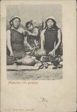 CHILE INDIGENAS MAPUCHE EN CON GUAGUA ED. BRANDT N° 90