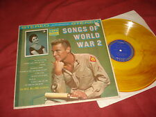 THE RUSS WILLIAMS ORCHESTRA Songs of World War 2 LP USA YELLOW EASY WWII