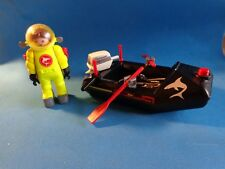 Playmobil Buceador con lancha Deep sea diver with motorboat 4910