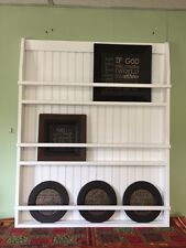 Wall Book Shelf or Plate Rack Primtive