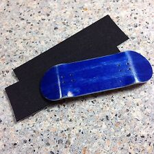 Steep Hill FB,New 32mm Wooden Blue Fingerboard Deck, 2 Grip Tape,2 Stickers