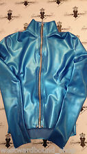 R476 Mistress Top *New Collection* size 6 Pearlsheen Blue RUBBER Latex