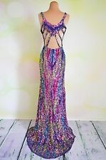 NWT Sexy Long Evening Formal Sequin Pageant Homecoming Gala Holiday Gown Dress 2