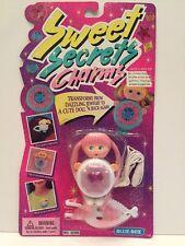 Sweet Secrets Charms New On Card Blue-Box