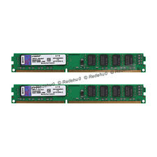 8GB 2X4GB Kingston DDR3 1333MHz PC3-10600 CL9 240Pin DIMM KVR1333D3N9/4G SDRAM