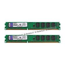 8GB 2X4GB Kingston DDR3 1333MHz PC3-10600 CL9 240Pin DIMM KVR1333D3N9/4G SDRAM