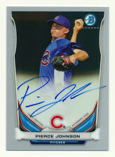 2014 BOWMAN CHROME PIERCE JOHNSON RC AUTO ROOKIE AUTOGRAPH CHICAGO CUBS QTY