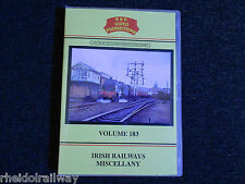 Claremorris, Wexford Quays, Portrush, The Irish Railways, B & R Vol 183 DVD
