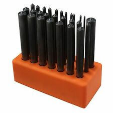 "28pc Transfer Punch Set | Steel Metal Tool Stand 3/32"" to 1/2"" Index 17/32"""