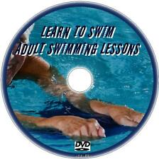 LEARN TO SWIM EASY 2 FOLLOW DVD BEGINNERS SIMPLE SWIMMING LESSONS FOR ADULTS NEW