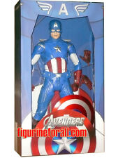 "Neca AVENGERS Movie CAPTAIN AMERICA 18"" 1/4 Scale Action Figure Marvel SEaled"