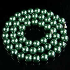 """Czech Glass Pearl Round Spacer Loose Beads 4mm 6mm 8mm 10mm jewelry DIY 16"""""""