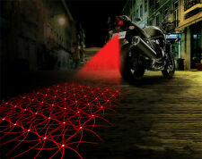 Universal Car / Bike Red LED DRL Laser Fog Light For Reverse / Brake / Regular.