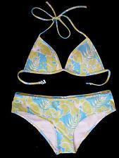 Moda h&m bikini-set: bikini + bikini pantalones bañador turquesa/verde claro talla 36
