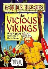 Horrible Histories: Vicious Vikings by Terry Deary (1998, Paperback)
