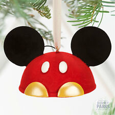 Disney Parks Mickey Mouse Ear Hat Christmas Ornament
