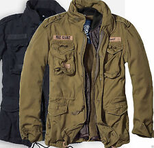 M65 JACKET MENS WINTER MILITARY PARKA JACKET LINER OLIVE OR BLACK M-2XL