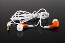 Orange Portable 3.5mm In-Ear Earphone Earbud for iPhone Tablet PC Phablet
